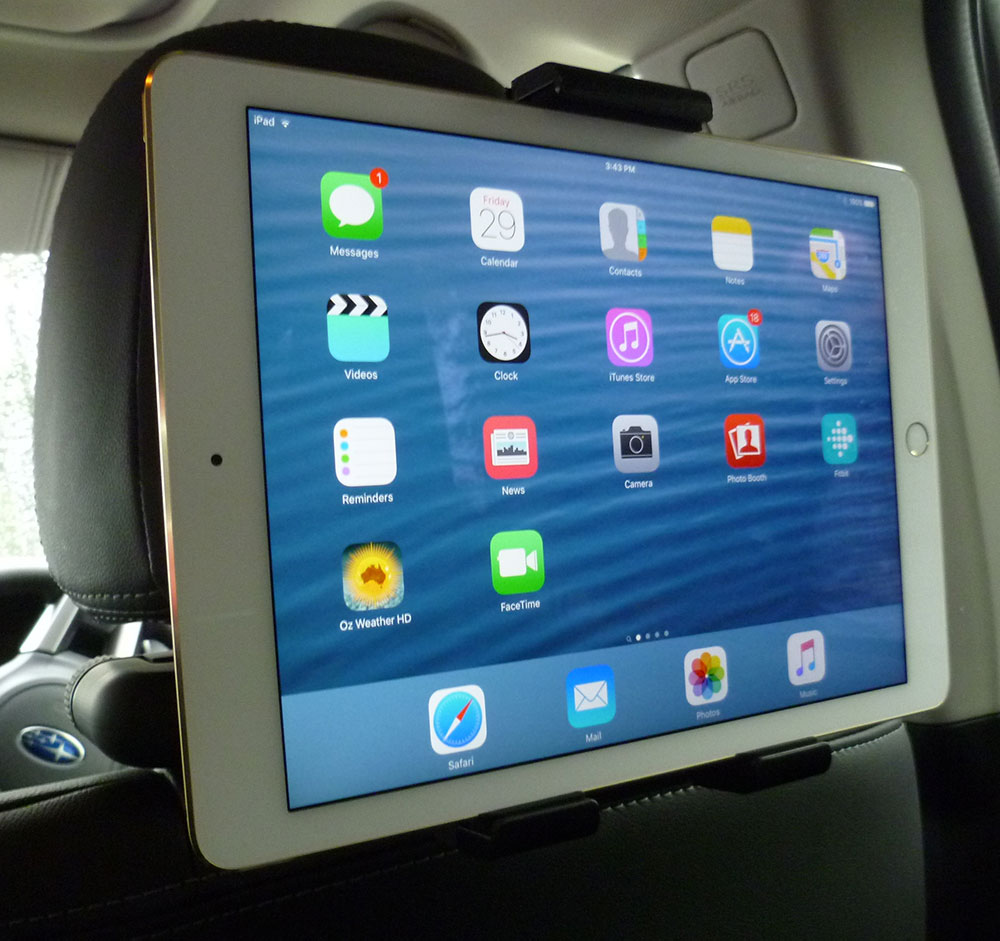 Ipad And Tablet Mounts Swift Packaging Wiring Harness Rear Seat Passenger